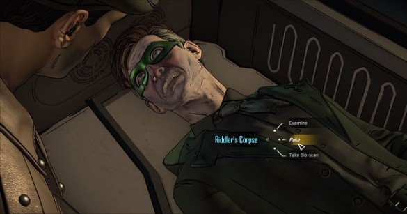 Batman The Enemy Within - Episode 4 - Riddler's Body
