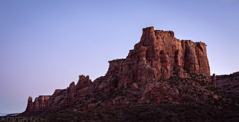 Gold Star Canyon at Dusk