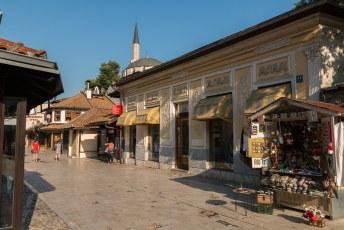 Mijn rondje door de oude stad oftewel Stari Grad was bijna compleet.