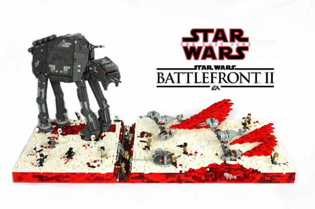 ~LEGO Star Wars Battlefront 2 Battle Of Crait from The Last Jedi~