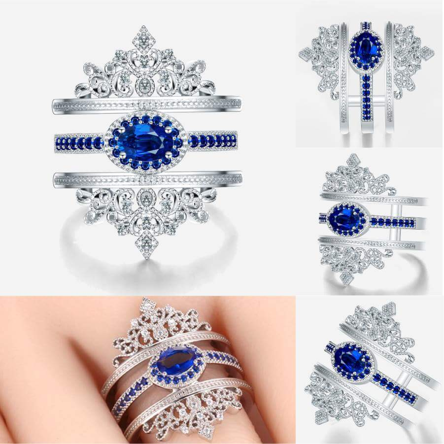 33 Exclusive Sapphire Ring Designs Rings 2018 Styles Eve