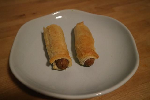 Vegetarische worstenbroodjes (2)