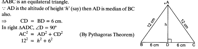 Important Questions for Class 10 Maths Chapter 6 Triangles