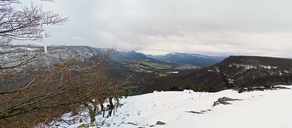 Panoramica Parque Natural Urbasa Andia Balcon Pilatos Navarra 03