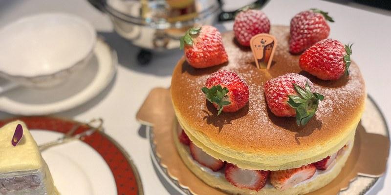 台南美食千層 東寧路新風格呈現,季節限定的草莓乳酪香。「克林姆之屋」 千層蛋糕 東寧店 西門店 