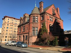 Ross Winans Mansion, 1217 Saint Paul Street, Baltimore, MD 21202