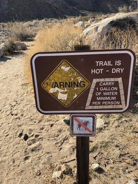 Borrego Springs - should have been