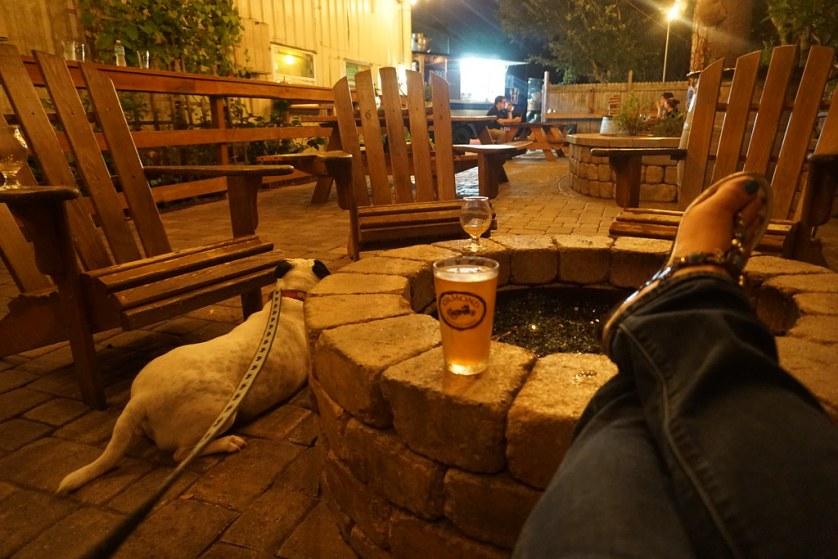 Ormond Brewing Company - Dog-Friendly Dining in Daytona Beach, Fla., July 2017
