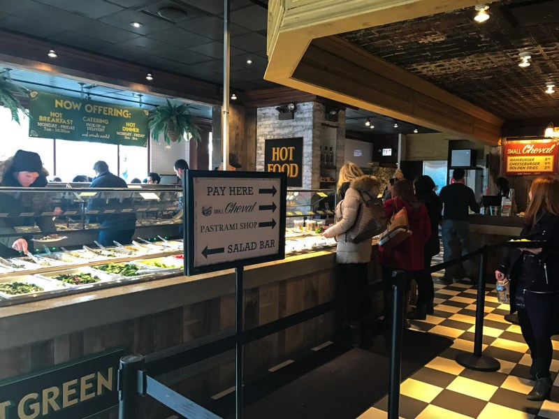 Food and salad bar