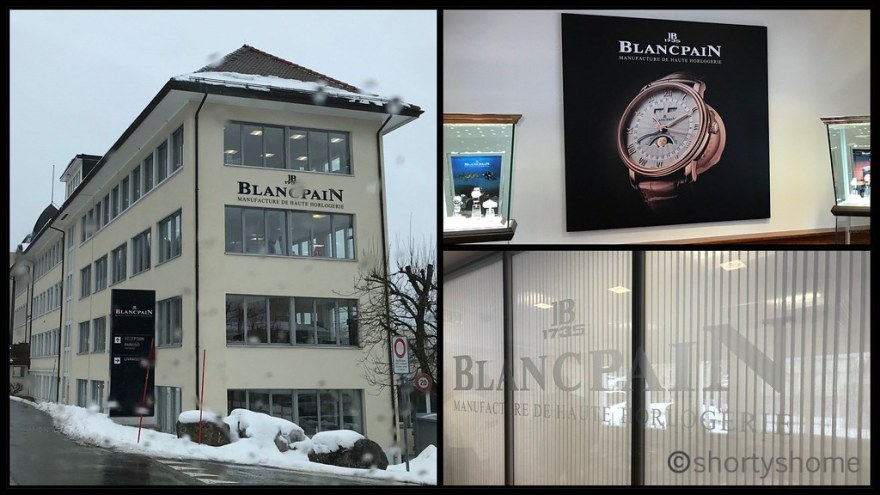 A visit to Blancpain in the Vallée de Joux - Le Sentier