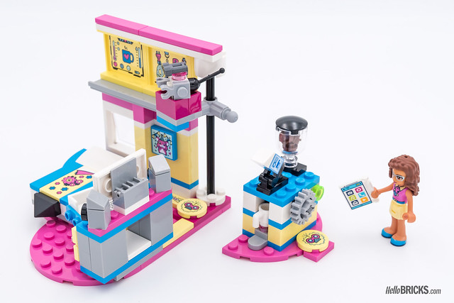 REVIEW LEGO Friends 2018 - LEGO 41329 Olivia's deluxe Bedroom 2