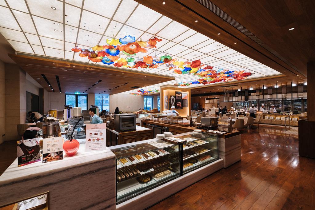 [臺北中山] 託客戶的福才吃到的近年強力buffet- 美福大飯店彩匯自助餐廳午餐