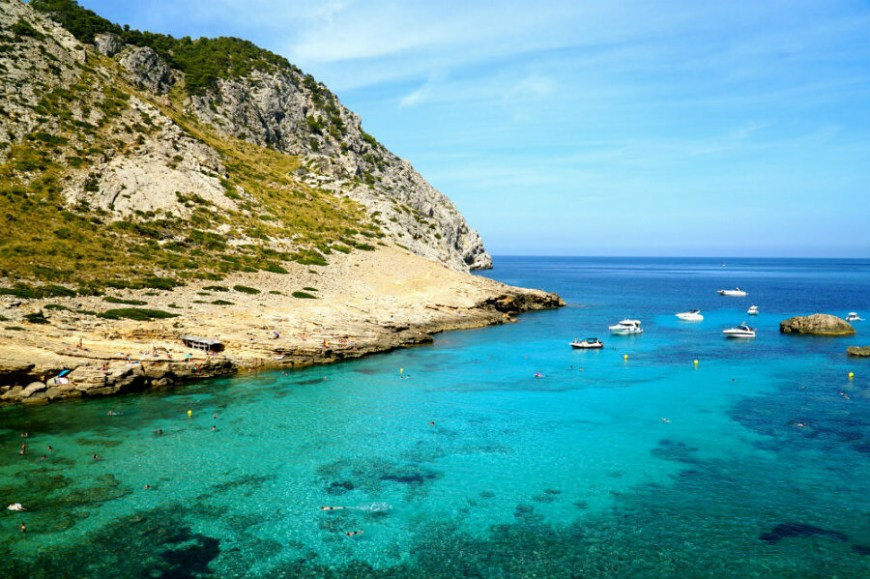 The best beaches in Mallorca: Cala Figuera Mallorca