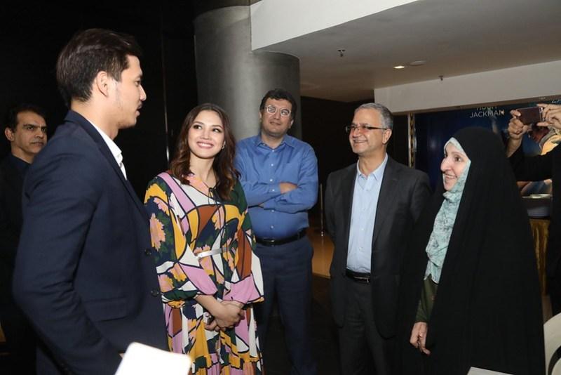 Duta Besar Iran - Madam Marzieh Afkham dan wakil dari Kedutaan Besar Iran di Malaysia turut hadir memberi sokongan