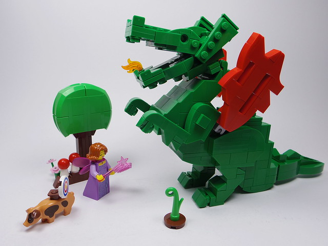 Learn to Use Fire - LEGO Dragon Knights