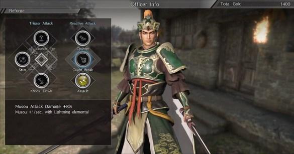 Dynasty Warriors 9 - Gem Crafting