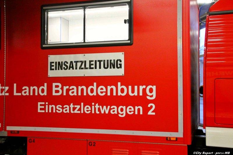 Potsdamer Feuerwehr erhält neuen Einsatzleitwagen 'ELW2