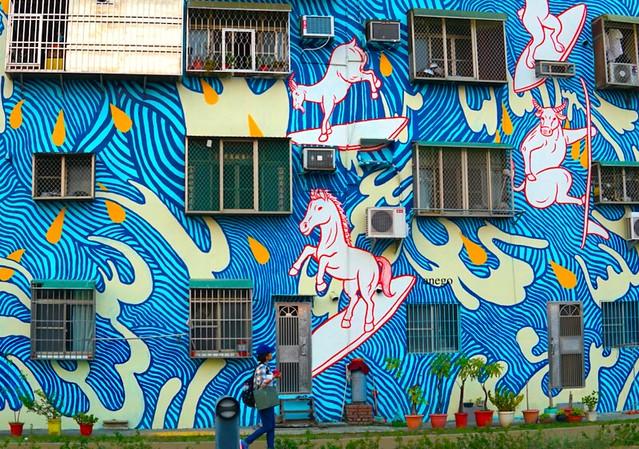 駁二藝術特区 素敵な外壁