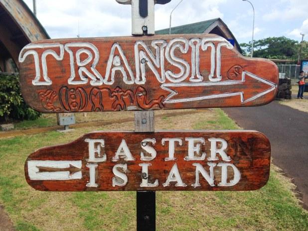 Llegada a Isla de Pascua