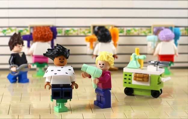 Stepping out of LEGO's 2017 Hair Salon