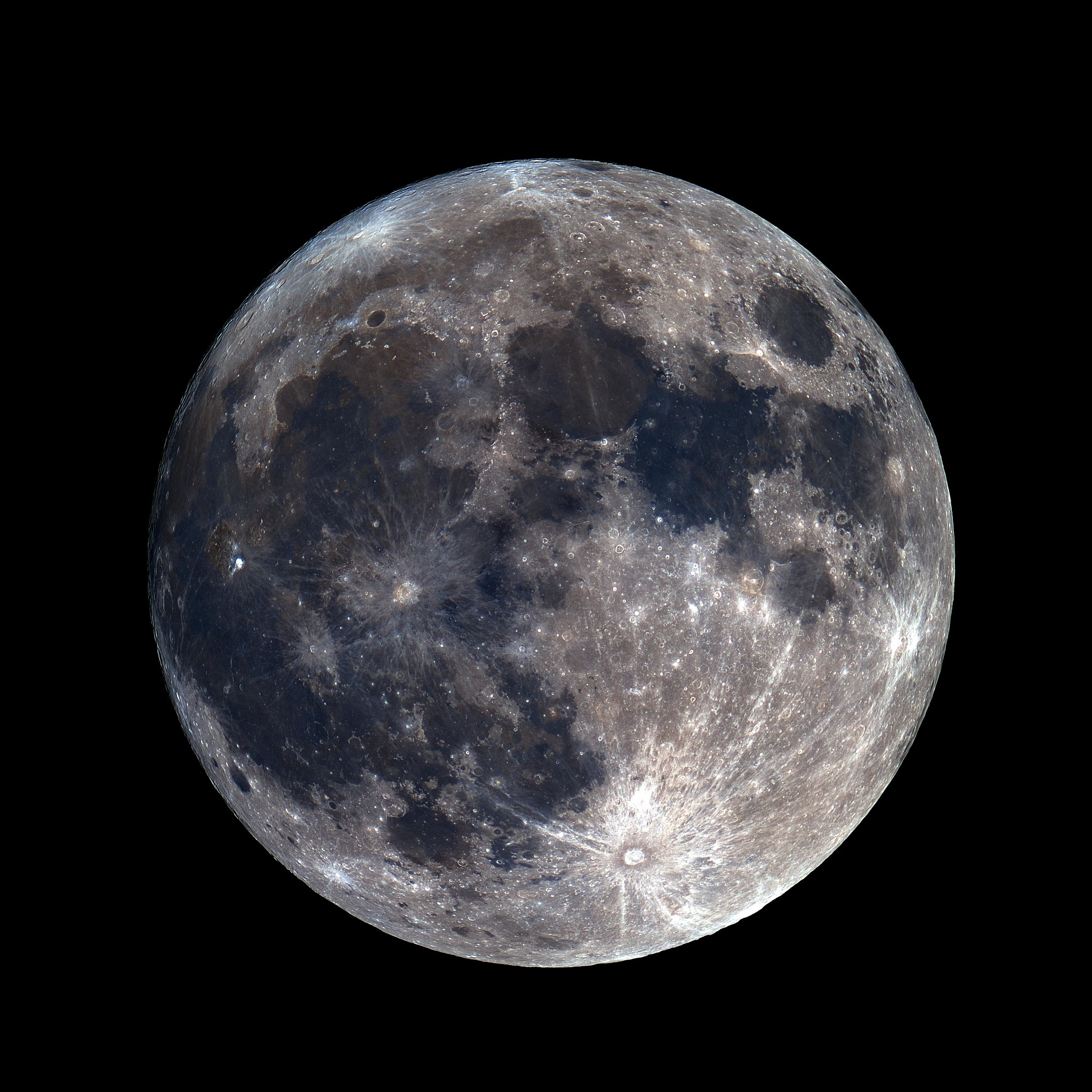 Perigee Moon - 1st Jan 2018