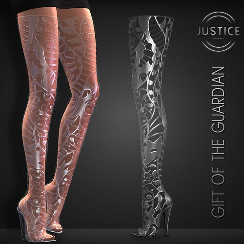 JUSTICE LIZA BOOTS GIFT OF THE GUARDIAN