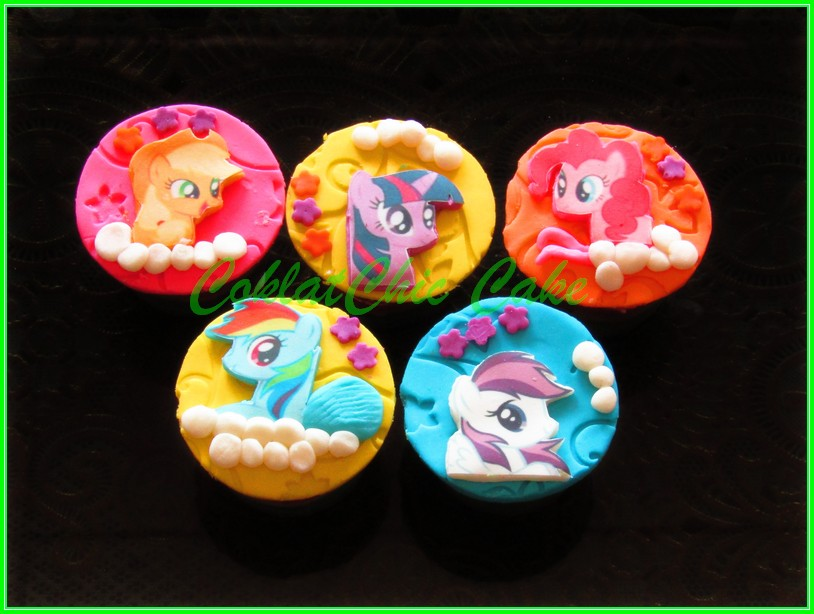 Cupcake My Little Pony 2D