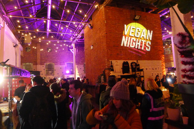 Vegan Nights 3, The Boiler House, Brick Lane