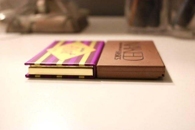 Palette thickness comparison