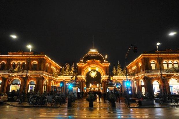 Copenhagen - Main entrance of Tivoli Gardens