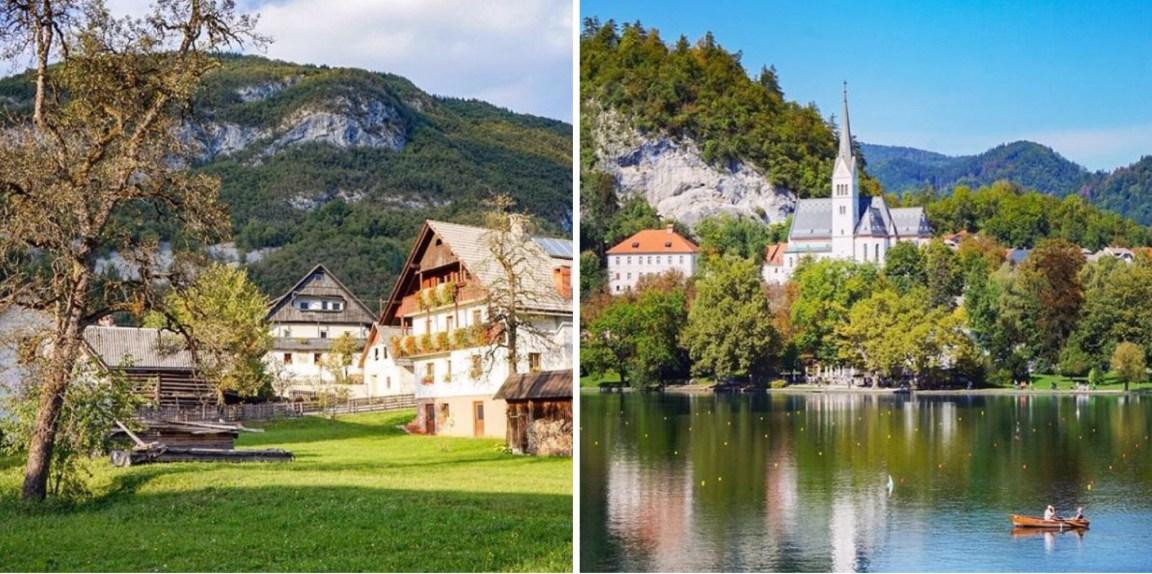 Reissuvuosi 2017: Bohinj ja Bled, Slovenia