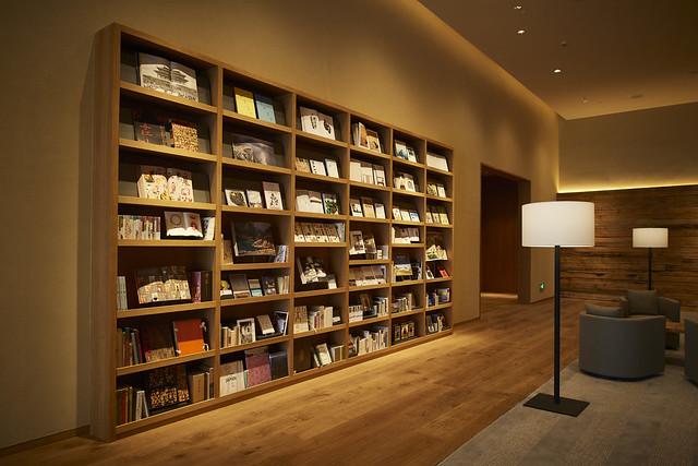 MUJI HOTEL SHENZHEN 无印良品酒店·深圳_3F 大堂 LIBRARY
