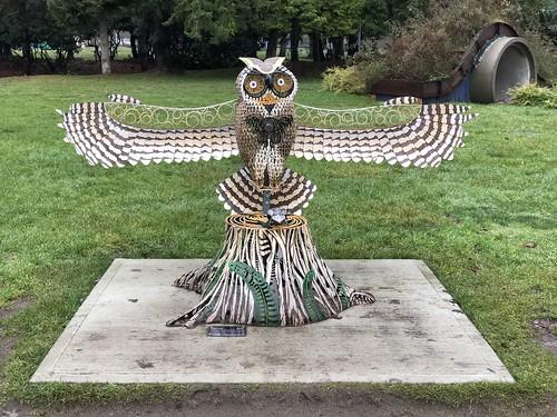 Nanaimo - park sculpture