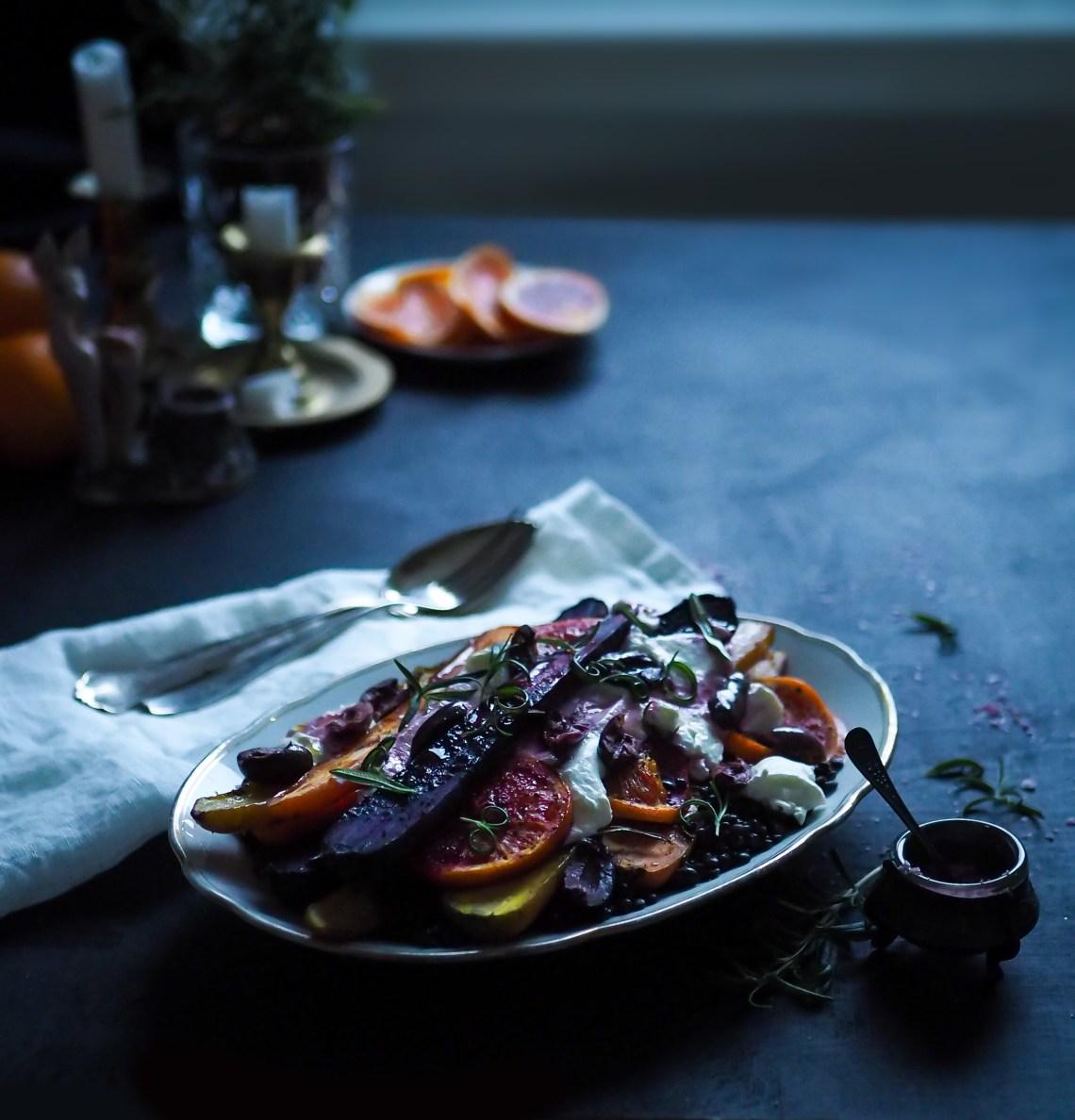 paahdetut porkkanat
