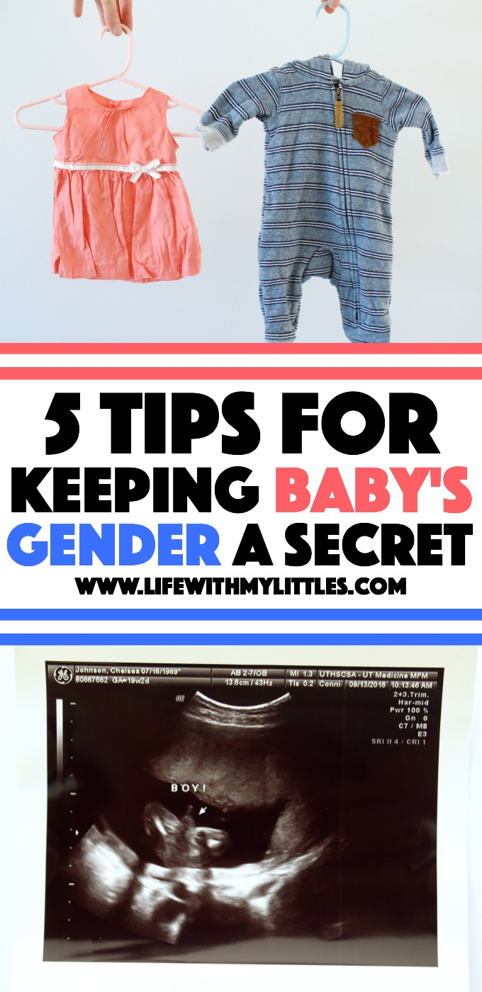If you're planning on waiting until your baby is born to find out the gender, this is a great post! 5 tips for keeping your baby's gender a secret until they're born!
