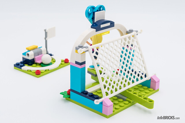 REVIEW LEGO Friends 2018 - LEGO 41330 Stephanie Soccer Practice Goal