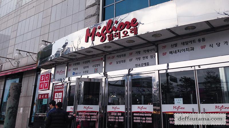 5 hari di Seoul - Migliore Fashion Mall