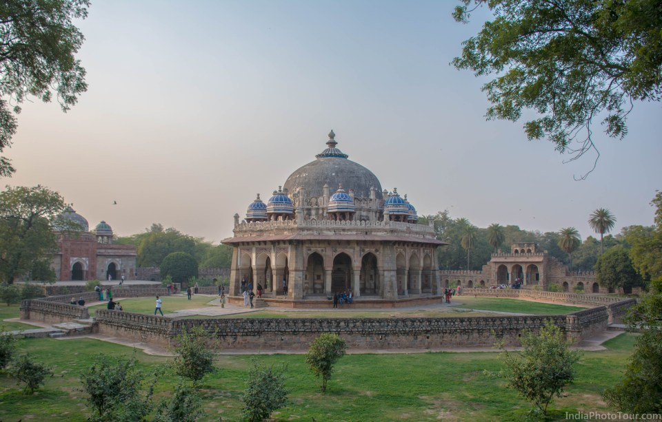 Another shot of Isa Khan's tomb from it's wall