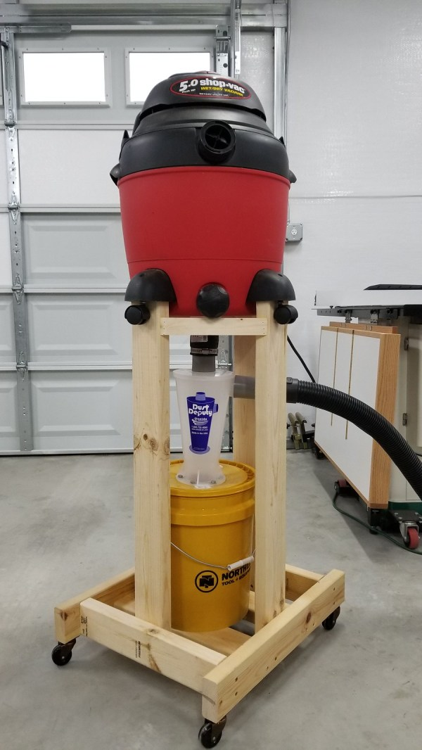 Mobile Dust Deputy Cart - Year of Clean Water