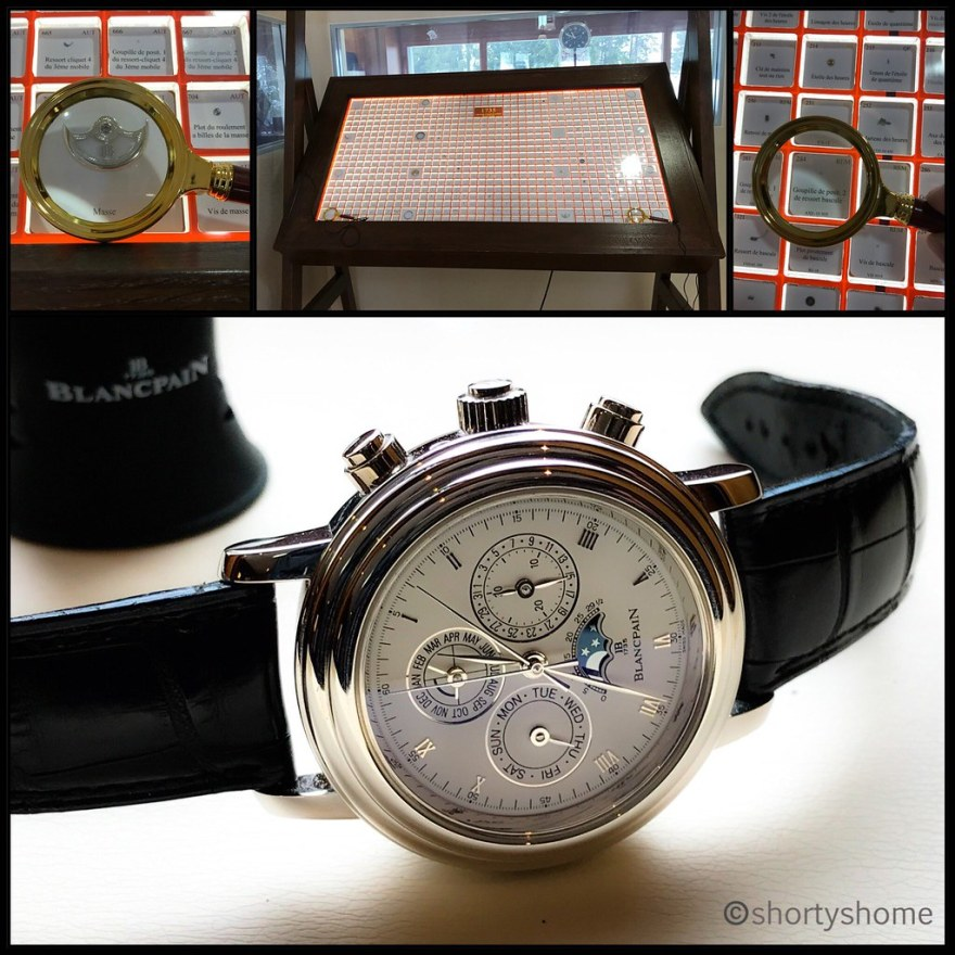 A visit to Blancpain in the Vallée de Joux - the famous 1735