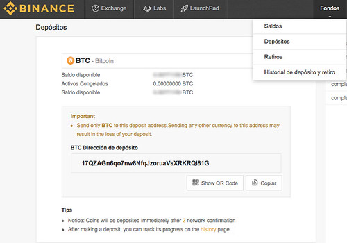 depositos-binance