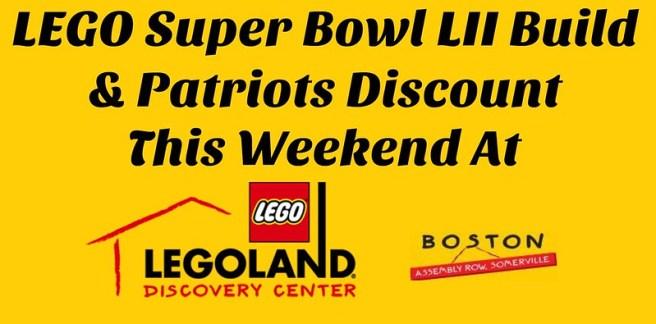 Discount at LEGOLAND Discovery Center Boston