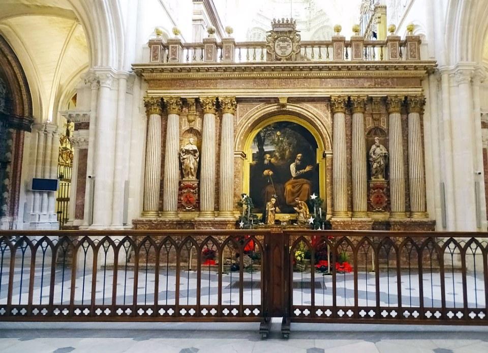 Catedral de Burgos Trascoro central