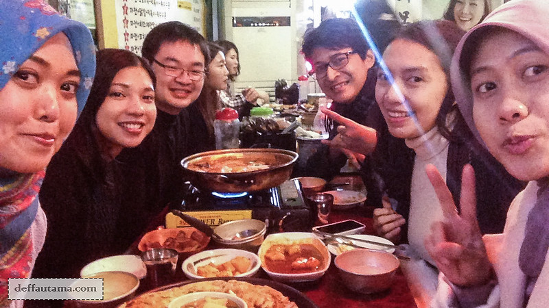 5 hari di Seoul - Friends