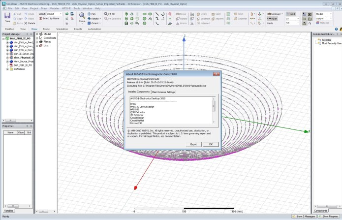 Working with ANSYS Electronics 19.0 Suite Win64 full license