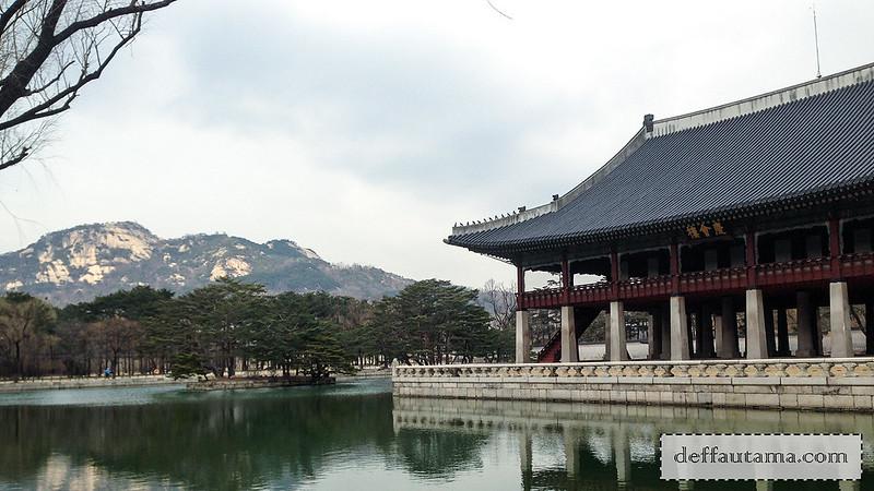 5 hari di Seoul - Gyeonghoeru Pavilion