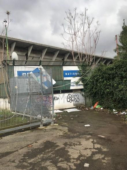 Roma - Milan met de Romanisti