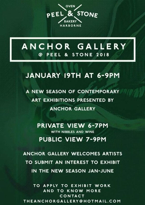The Anchor Gallery at Peel & Stone, 374 High Street, Harborne, Birmingham