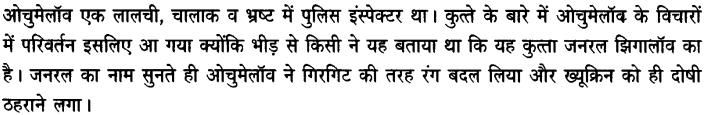 Chapter Wise Important Questions CBSE Class 10 Hindi B - गिरगिट 22a