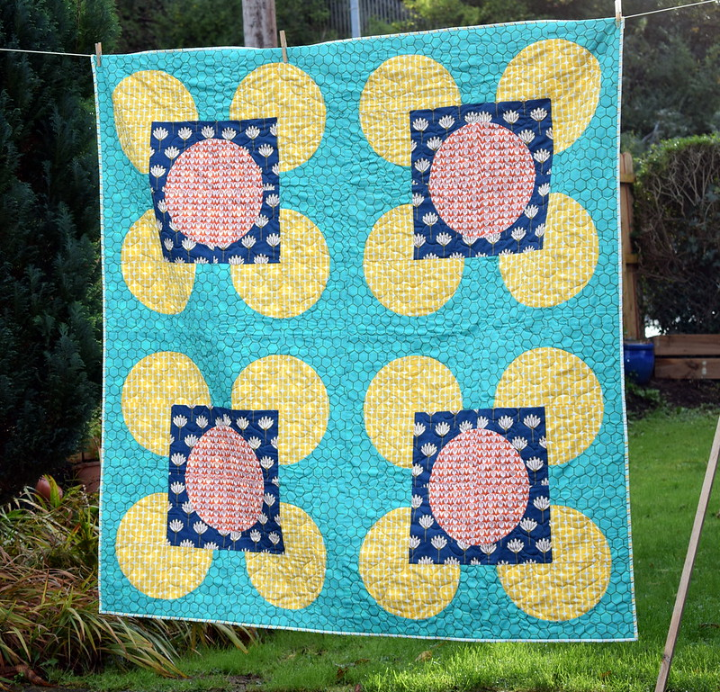 Hippy Blush Quilt (Popular Patchwork March18)